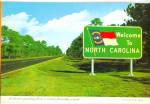 North Carolina Highway Welcome Sign cs6783