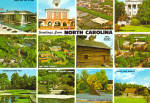Multi View Postcard of North Carolina cs6787