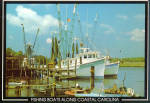 Fishing Boats Along Coastal  South Carolina cs6811