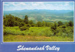 Shenandoah Valley Virginia Postcard cs6840