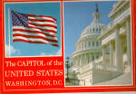 US Capitol and US Flag