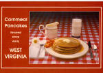 Click here to enlarge image and see more about item cs6912: West Virginia Cornmeal Pancakes Recipe