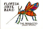 Click here to enlarge image and see more about item cs6954: Florida State Bird The Mosquito