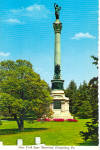 Click here to enlarge image and see more about item cs6999: New York State Monument,Gettysburg National Park