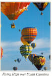 Click here to enlarge image and see more about item cs7006: Hot Air Balloons over South Carolina