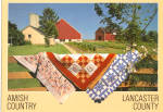 Amish Farm Home With Quilts on Fence cs7040