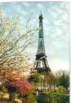 Click here to enlarge image and see more about item cs7061: Eiffel Tower, Paris, France
