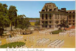 Click here to enlarge image and see more about item cs7104: Noon Formation Midshipmen at Bancroft Hall  Annapolis cs7104