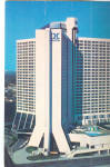 The Atlanta GA Hilton Postcard cs7263