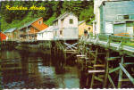 Click here to enlarge image and see more about item cs7304: Creek Street, Ketchikan, AK