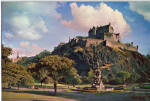 Click here to enlarge image and see more about item cs7374: Edinburgh Castle Edinburgh Scotland Postcard cs7374