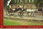 Click here to enlarge image and see more about item cs7385: Mulberry Phaeton on Duke of Gloucester St, Williamsburg, Virginia