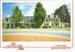 Concord Massachusetts Colonial Inn Postcard cs7439