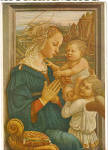 The Adoration by Fra Filippo Lippi Postcard cs7489