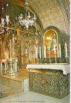Altar of  the Virgin Mary of Sorrows, Jerusalem, Israel
