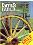 farm and ranch living magazine advertising Postcard cs7497