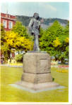 Click here to enlarge image and see more about item cs7551: Edward Grieg Statue, Bergen, Norway