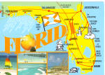 Click here to enlarge image and see more about item cs7675: State Map of Florida