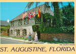 The Oldest House in St Augustine, Florida