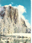 El Capitan in Winter Yosemite National Park California cs7716