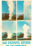 Click here to enlarge image and see more about item cs7717: Old Faithful Geyser of California Calistoga California cs7717