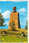 Lincoln Monument on I-80 Between Cheyenne and Larimie, Wyoming