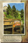 Click here to enlarge image and see more about item cs7766: Downtown Creek Street, Ketchikan, Alaska