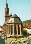 Heidelberg  Germany  Church of the Holy Ghost cs7779