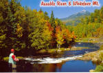 Whiteface Mt and Ausable River Trout Stream Adirondacks New York cs7808