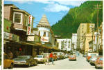 Click here to enlarge image and see more about item cs7816: Franklin Street Juneau Alaska Vintage Cars Signs cs7816