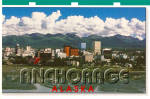 Skyline of Anchorage, Alaska