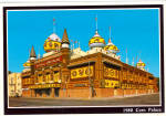Click here to enlarge image and see more about item cs7859: Corn Palace , 1988, Mitchell South Dakota