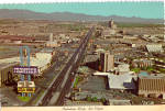 Click here to enlarge image and see more about item cs7871: The Fabulous Strip, Las Vegas, Nevada Eddie Fisher,Frontier