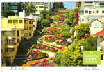 Lombard Street,,San Francisco Crookedest Street in World