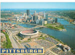 Pittsburgh  Pennsylvania Three Rivers Stadium cs7954