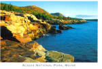 Coastline Acadia National Park Maine cs8017