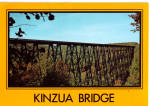 Kinzua Bridge near Mt Jewett Pennsylvania cs8024