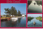 Click here to enlarge image and see more about item cs8084: Views of Boats on Erie Canal Postcard cs8084