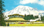 Mt Rainier, Washington, Paradise Visitors Center
