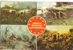 Views of Paintings War on Land of American Bicentennial cs8096