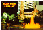 Click here to enlarge image and see more about item cs8104: Brisbane Queensland Austalia King George Square cs8104
