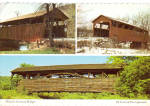Covered Bridges of Lycoming County PA Postcard cs8113