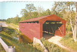 Click here to enlarge image and see more about item cs8124: Bay View Maryland Gilpin s Falls Covered Bridge Postcard cs8124