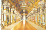 Click here to enlarge image and see more about item cs8131: Large Gallery of Mirros, Palace Herrenchiemsee ,Germany