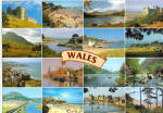 Mini Photos of Wales Postcard