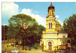 Click here to enlarge image and see more about item cs8160: Lodz Poland  View of  a Church cs8160