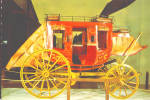 Click here to enlarge image and see more about item cs8174: National Cowboy Hall of Fame Oklahoma City OK Stagecoach cs8174
