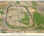 Click here to enlarge image and see more about item cs8182: Inianapolis Motor Speedway Aerial View Postcard cs8182
