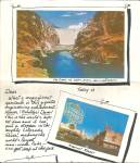 Click here to enlarge image and see more about item cs8186: Folder of Hoover Dam and Las Vegas Nevada cs8186