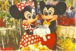 MIckey and MInnie at Main Street Flower Market